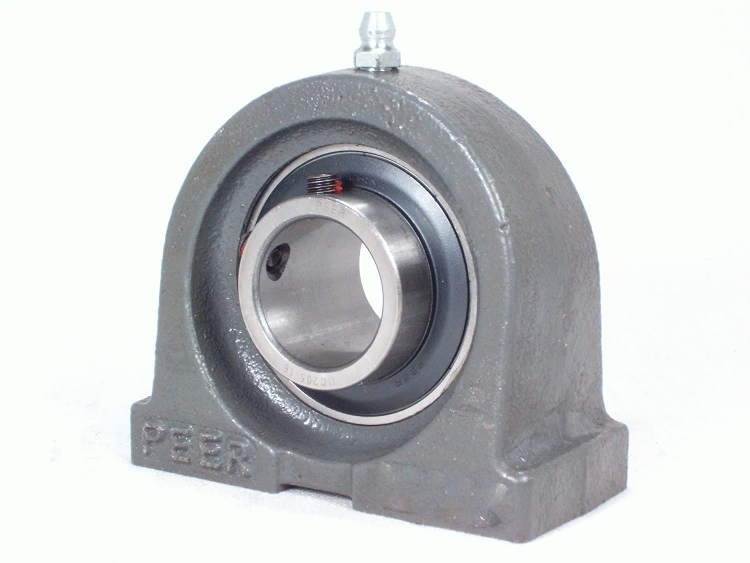 Excellent Peer Bearing FHPA209-26G Pillow Block Base NEW before selling Tapped Iron Ho Cast