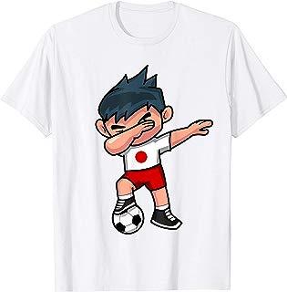 Dabbing Soccer Boy T Shirt Japan Japanese Football