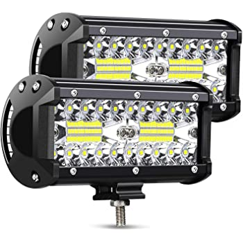 LED Light Bar AMBOTHER 9-Inch 360-Watt