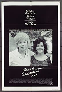 Terms Of Endearment (1983) Original Movie Poster