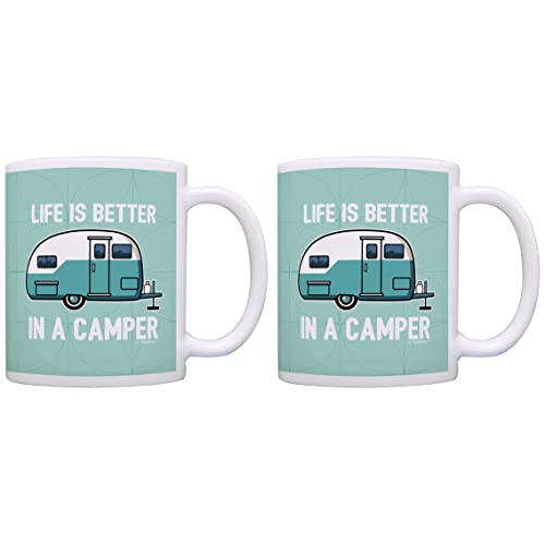 RV Camper Gifts Life is Better in a Camper Camping Gifts Vintage Camper Accessories Gift 2