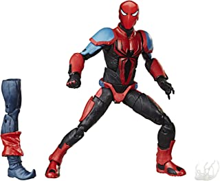 Marvel Spider-Man Legends Series 6-inch Collectible Action Figure Spider-Armor MK III Toy, With Build-A-Figure Piece and A...