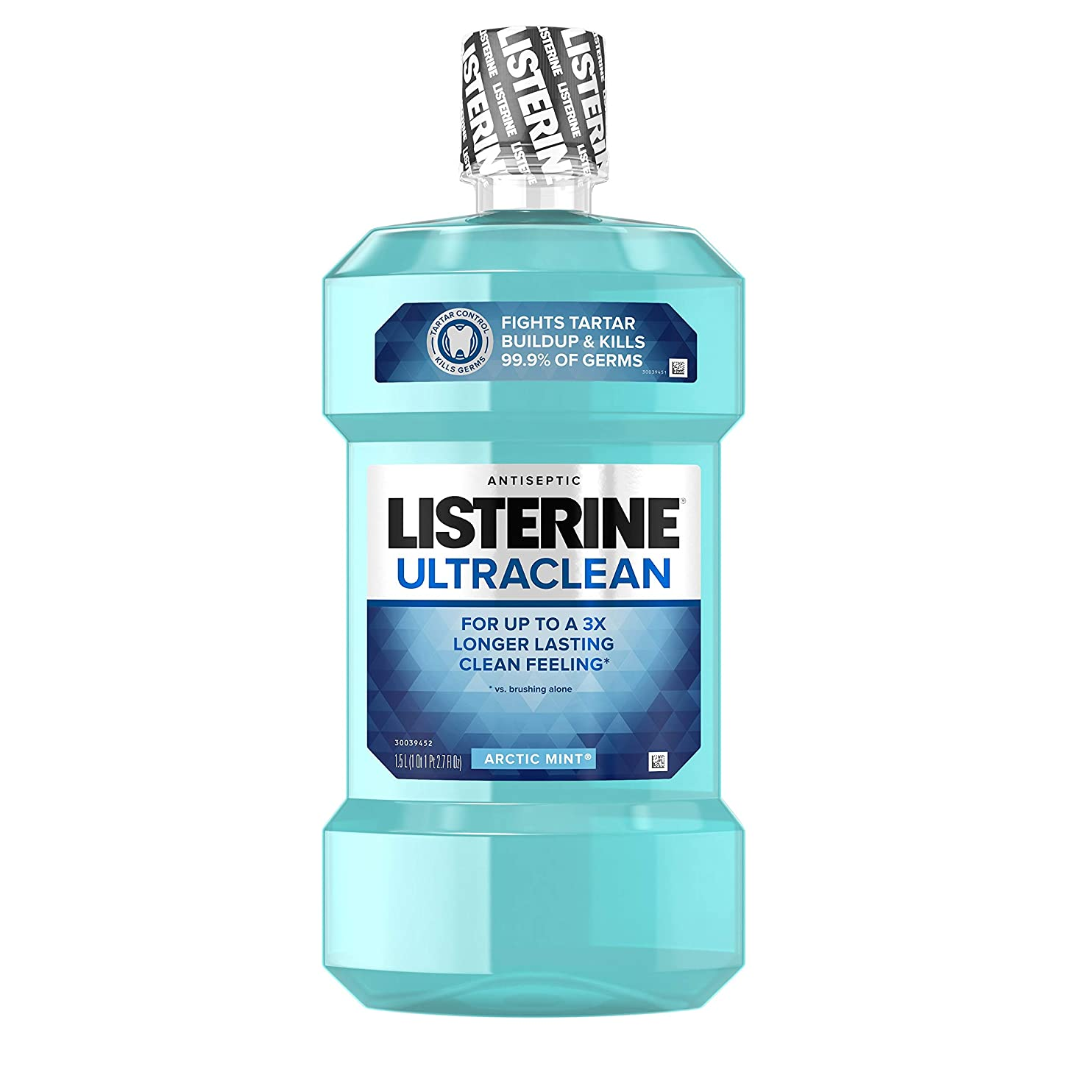 バーマド間欠世界記録のギネスブックListerine UltraClean Mouthwash, Arctic Mint,1.5 Liters by Listerine