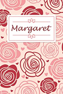Margaret: Personalised Notebook / 120 Lined Pages / Perfect for journaling and writing notes.