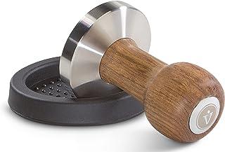 Vienesso kaffebryggarset premiumdesign, klassisk espressosofångare tillverkad av rostfritt stål och högkvalitativt äkta tr...