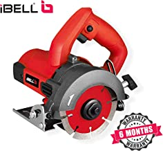 iBELLMC25-84 Marble Cutter, 1300 Watts, 13000 RPM, 125 mm