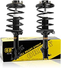 OREDY Front Pair 2 Pieces Complete Struts Assembly Shock Struts Coil Spring Assembly Kit 11944 171461 11943 171462 Compatible with Maxima 2002 2003/i35 2002 2003 2004