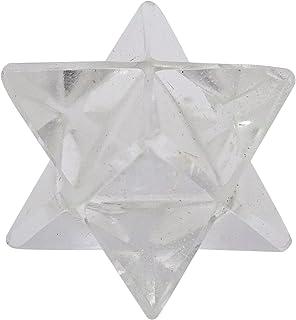 Harmonize Spiritual 8 Points Merkaba Crystal Clear Pierre Sacrée Étoile Reiki Gemstone