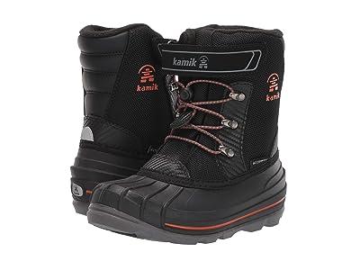 Kamik Kids Chuck (Little Kid/Big Kid) (Black/Flame) Boys Shoes