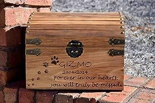 Large Pet Memory Keepsake Box - Pet Memorial - Memory Chest - Pet Memory Box - Custom Pet Memory Chest - Memory Box