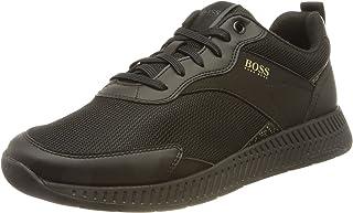 BOSS Herren Titanium Runn Sneakers aus Mesh mit gummierten Details und verpixeltem Print Größe