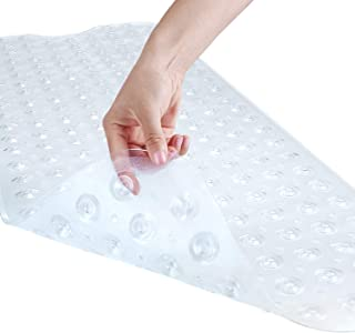 YINENN Bath Tub Shower Mat 40×16 Inch Non-Slip and Latex Free,Bathtub Mat with..