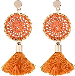 magasin britannique nouveau design acheter populaire Amazon.fr : Orange - 3 étoiles & plus / Boucles d'oreilles ...