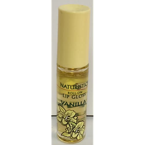 de06f51a4cd Amazon.com   Naturistics Miss Kiss Roll-On Lip Gloss - Vanilla   Beauty