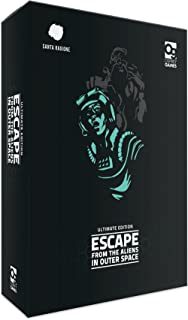 Bloomsbury Publishing PTY Ltd. Current Edition Escape from The Aliens in Outer Space Board Game