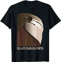 Klaatu Barada Nikto Robot SiFi T-Shirt