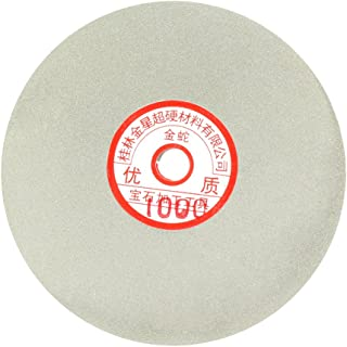 uxcell 6-inch Grit 1000 Diamond Coated Flat Lap Wheel Grinding Sanding Polishing Disc