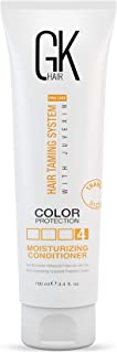 Global Keratin GKhair Moisturizing Conditioner Color Protection (100 ml/ 3.4 fl. oz) | Organic Oil Extracts - Sulfate, Paraben Free - For Damaged and Dry Hair - Women & Men | All Hair Types