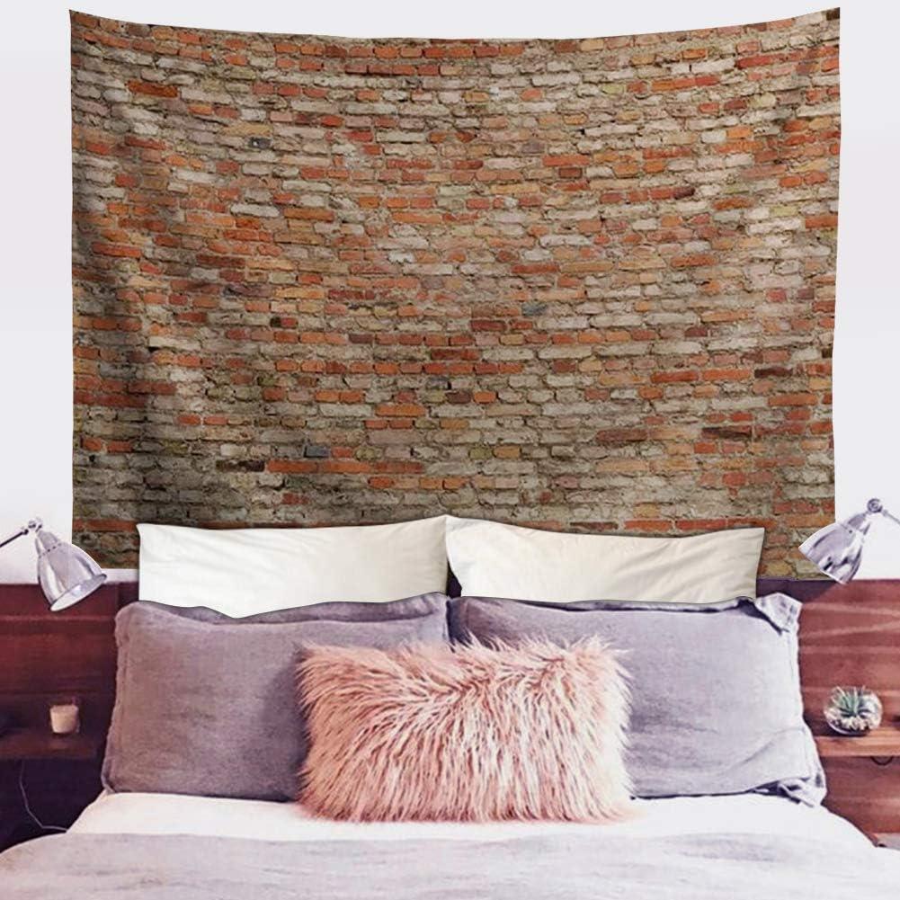 送料無料カード決済可能 Spring Warner Red Brick Wall Art ☆最安値に挑戦 Bedroo for Tapestry Room Living