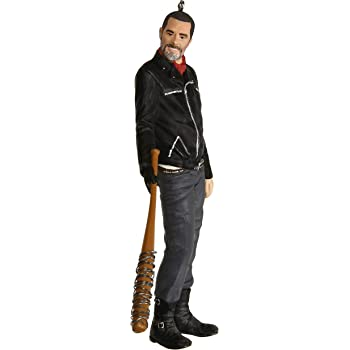 Hallmark Keepsake Christmas 2019 Year Dated The Walking Dead Negan Holding Lucille Ornament