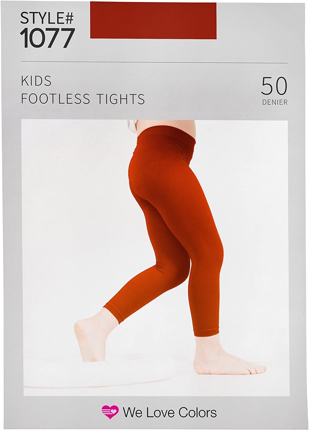 Kids Microfiber Footless Tights Quality inspection - We 6 Colors Months Manufacturer OFFicial shop 14 Love