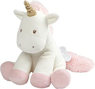 "Baby GUND Luna Unicorn Keywind Musical Lullaby Stuffed Animal Sound Plush, 9"""