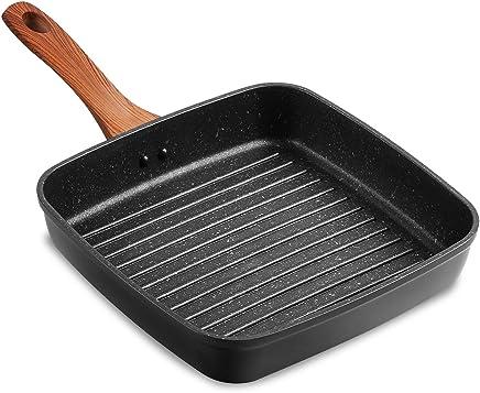 Yerflew Mini Non-Stick Egg Frying Pan Handheld Kitchen Omelette ...