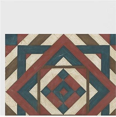 Trademark Fine Art Ua Ch Quilt Motif Iv by June Erica Vess, 24x24-Inch