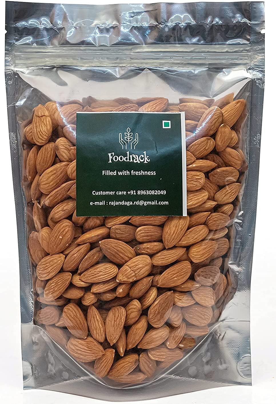 Max 67% OFF Gannon Foodrack Premium California Badam American Almonds Special sale item 400g