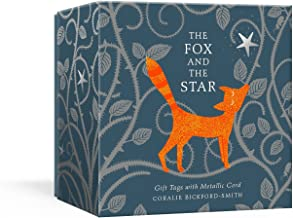 The Fox and the Star Gift Tags with Metallic Cord: 10 Foil-Stamped Gift Tags with Room on the Back for Personalizing