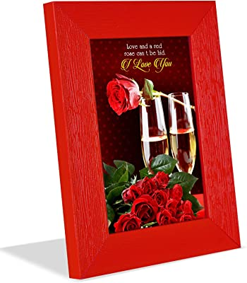 for My Love Rose Day Quotation Photoframe & Musical Red Flower with Ring Hamper