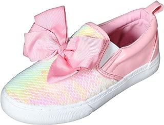 JoJo Siwa Girls Signature Bow Slip on Sneaker (Little Kid/Big Kid)