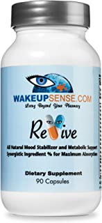 Promotes Natural Calm, 5 HTP with B Vitamins, Serotonin Supplement, Natural Sleep Aid, 5HTP Supplement for Mood Support, R...