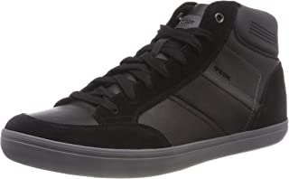 Geox Men's U Box E Hi-Top Trainers