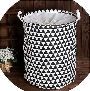 Love & Freedome Laundry Basket Bag Clothes Organizer Home Sundries Picnic Basket Toy Storage Basket Kitchen Hamper,09