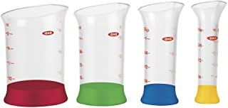 OXO Good Grips 4-Piece Mini Measuring Beaker Set,Clear
