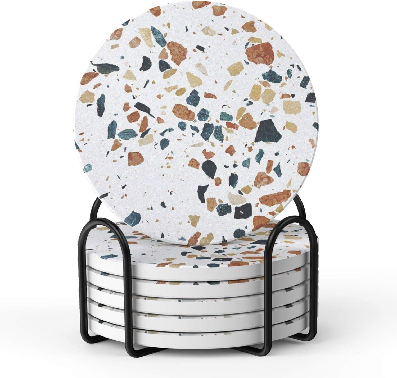 terrazzo coasters - $15