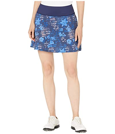 PUMA Golf PWRSHAPE Floral Skirt (Peacoat) Women