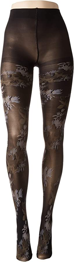 Brushed Deco Opaque Tights