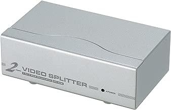 ATEN 2-Port 350 MHz VGA Video Splitter VS92A (Silver)