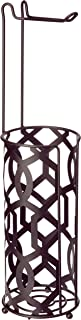 Inspired Living Toilet Paper Holder Reserve Stand TP Tower, Elegant, Bronze