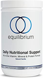 Daily Nutritional Support | All in One Vegan Protein Powder | Multivitamin Powder, Minerals & Immunity Support | Organic M...