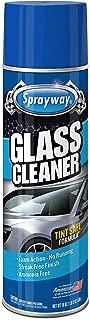 Sprayway SW050RAuto AutoAmmonia-Free Glass Cleaner, Foaming Action -Safe for OEM Tinted Window, 19 Oz