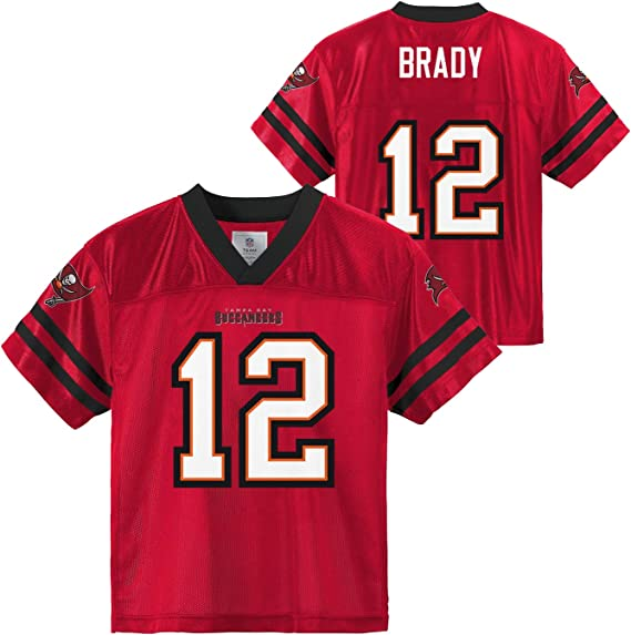 Outerstuff Tom Brady Tampa Bay Buccaneers #12 Youth 8-20 Red Home ...