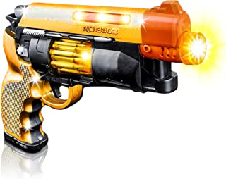 Blade Runner Airsoft Toy Pistol by ArtCreativity Toy Gun for Kids with LED and Sound Effect, Design, Batteries Included, Sturdy Plastic Design, Great Gift Idea for Girls and Boys - 1 Pistol