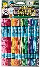 DMC Prism Craft Thread Pack 8 Meters 36/Pkg-Variegated Colors