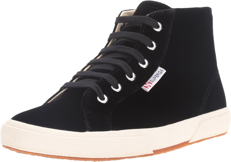Superga Women's 2095 Velvtw Fashion Sneaker Black