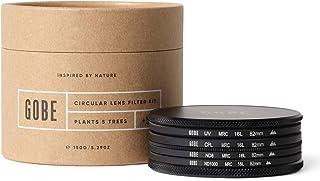 Gobe - Kit de Filtros para Objetivo 82 mm UV Polarizado Circular (CPL) ND8 ND1000 (2Peak)