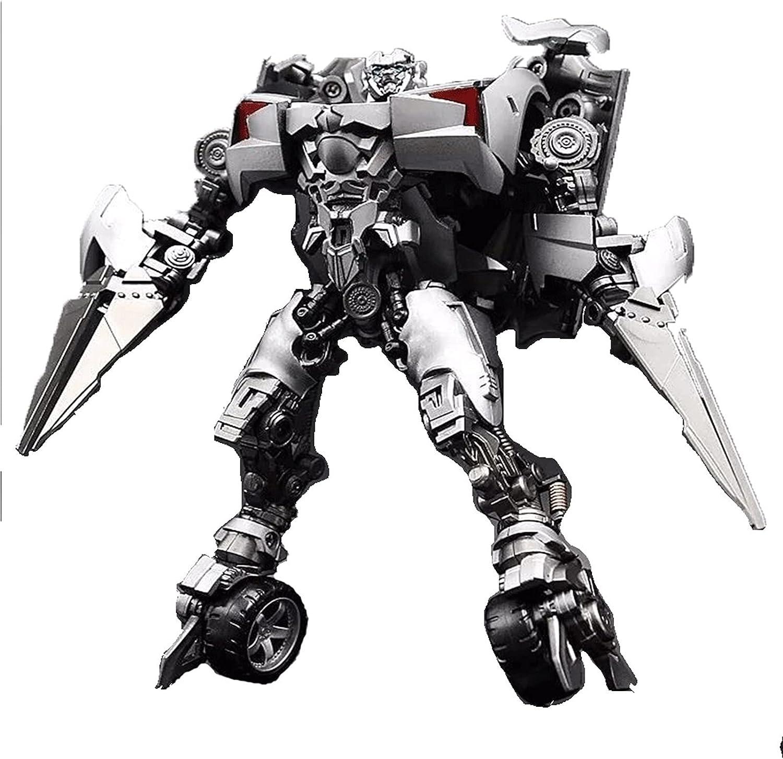 JINGZHUN KO Version Movie 5 Black Mamba Recubrimiento Fino SidesWipe Robot LS08 Doble Pistola Modificado Alloy Supercar