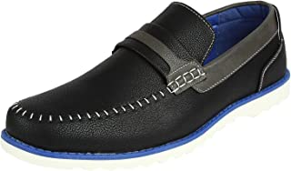 Spunk Men's Synthetic Leather Loafers